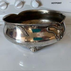 Silverplate bowl vintage Quadupleplate